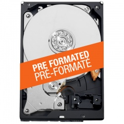 HDD pre-formatted